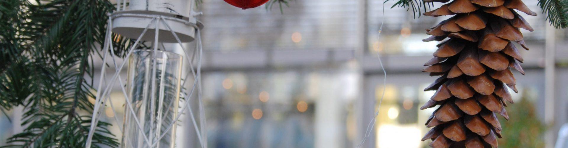 Weihnachtsstimmung Cafe Menthe